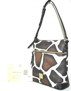Dooney & Bourke Giraffe/black Printed Crossbody - $198