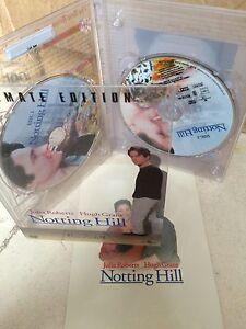 Hugh-Grant-Julia-Roberts-NOTTING-HILL-1999-2-Disc-US-Region-1-DVD-Digipak