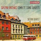 Grazyna Bacewicz: Complete String Quartets (CD, Jul-2016, 2 Discs, Chandos)