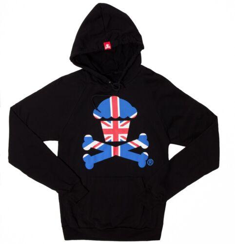 Johnny Cupcakes Pullover/'s London Flag Crossbones