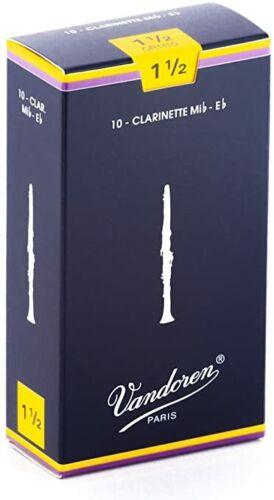 Vandoren ance clarinetto piccolo mib Traditional 1.5 box da 10