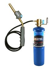 Bluefire Self Ignition 3 Hose Gas Welding Torch Kit With Propane Mapp Map Pro