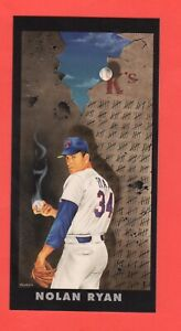 Nolan Ryan  1993 Colla Collection Diamond Marks  Art Card  Rare Insert Mint