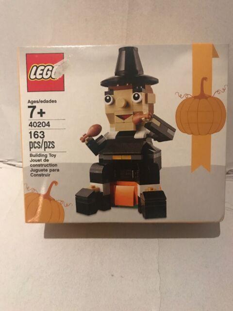NEW!! LEGO 40204 Pilgrim's Feast - Thanksgiving Seasonal Set -