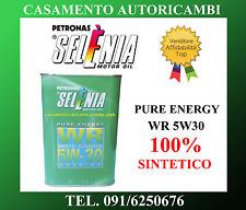 OLIO MOTORE AUTO SELENIA PURE ENERGY WR 5W30 100% SINTETICO 1LT
