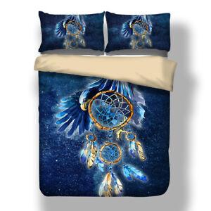 Feather-Dream-Catcher-Quilt-Doona-Duvet-Cover-Set-Queen-King-Single-Size-Bedding