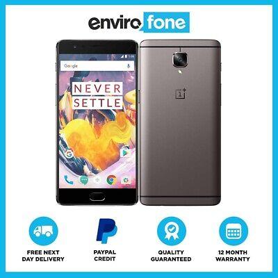 OnePlus 3T 64GB 128GB All Colours SIM Free Unlocked Refurbished Smartphone