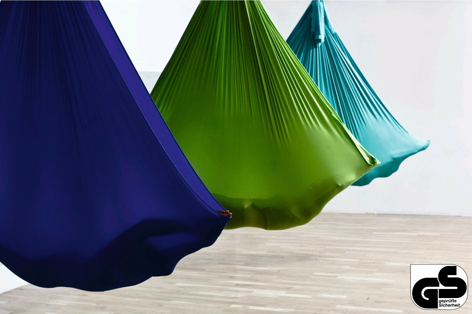 Aerial-Yoga-Tuch im Set inkl. Zubehör für Yoga, Fitness, Pilates in 32 Farben