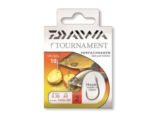 Modell 14454 Länge: 60cm DAIWA TOURNAMENT Maishaken Farbe: gold