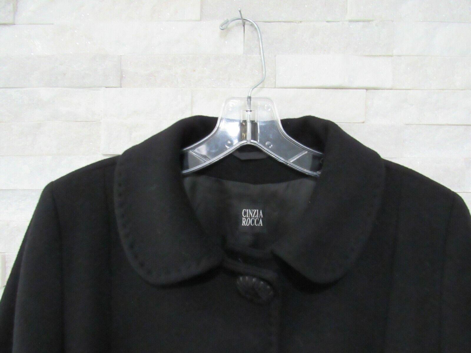Cinzia Rocca Black Wool Cashmere Princess Seams L… - image 6