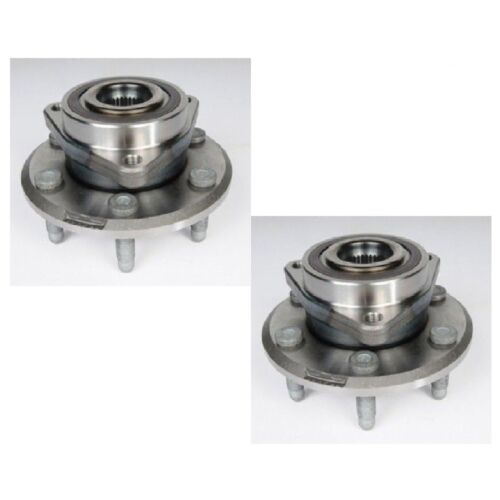 Rear Wheel Hub Bearing Assembly Fit CHEVROLET TRAVERSE 2009-2016 PAIR
