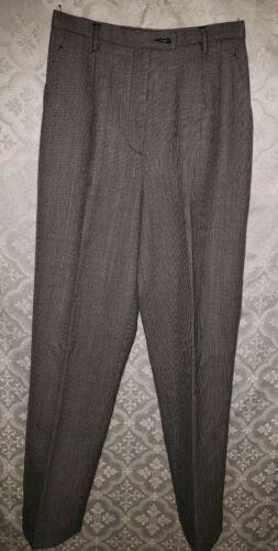 Pendleton womens petite wool pants slacks 4 Black
