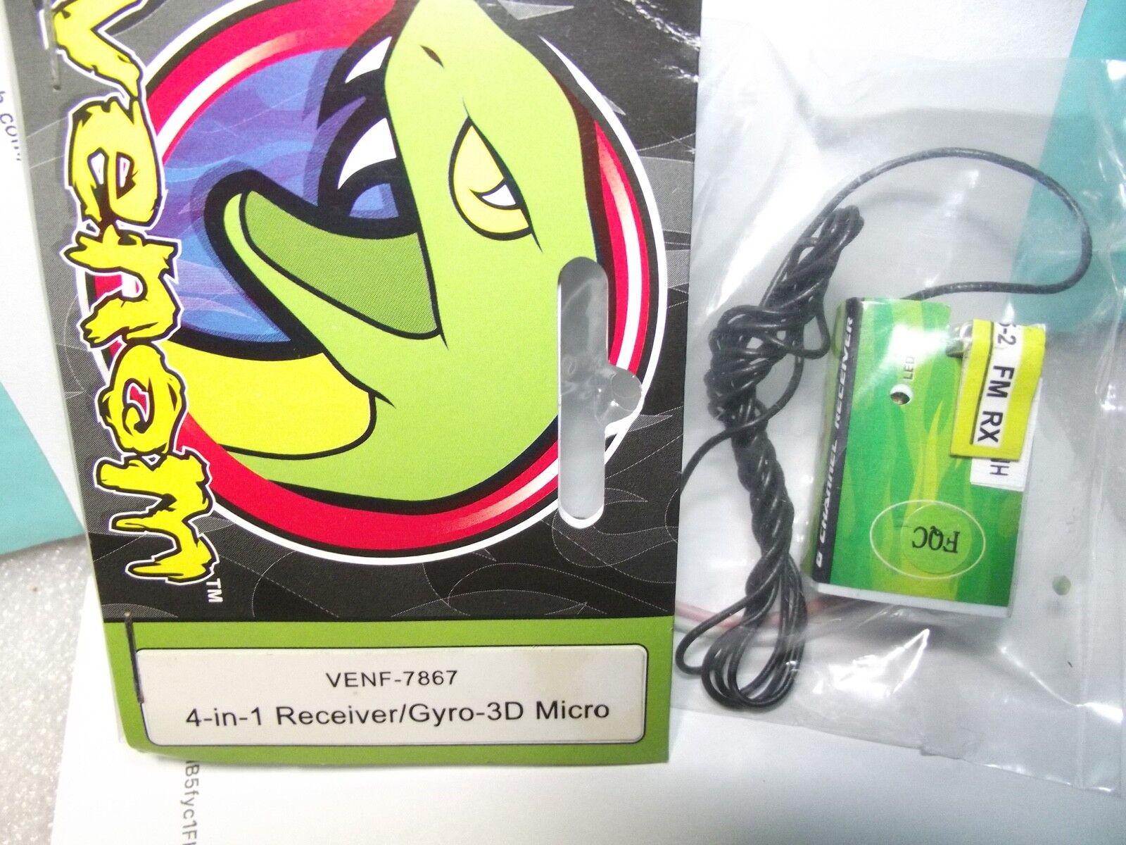 Venom -VENF-7867 4-in-1 Receiver Gyro-3D Micro