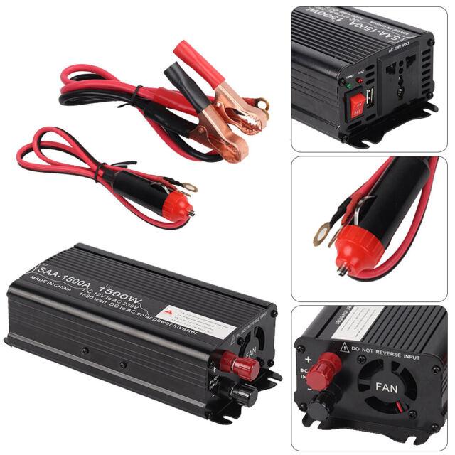 Vehicle Parts Accessories 4000w 2000w Auto Caravan Power