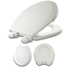 Incredible Bemis Just Lift Round Closed Front Toilet Seat In White Creativecarmelina Interior Chair Design Creativecarmelinacom