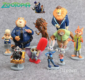 10x-Zootopia-Zootropolis-Judy-Hopps-Nick-Wilde-Mr-Big-Doll-Toy-Figures-with-Base