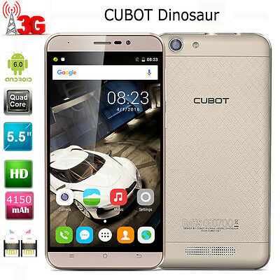 5.5pollici CUBOT Dinosaur 3G Cellulare Smartphone Android 6.0 Dual SIM 16GB 13MP