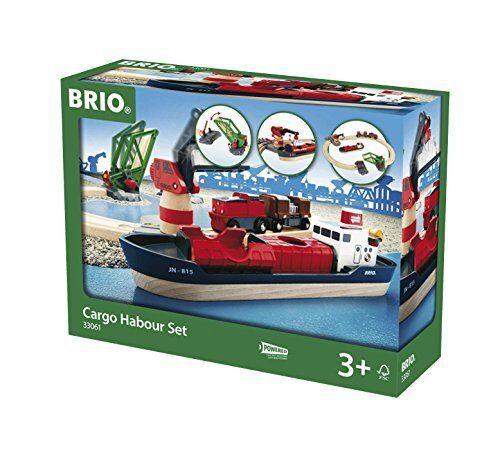 BRIO World - Harbour Cargo Set