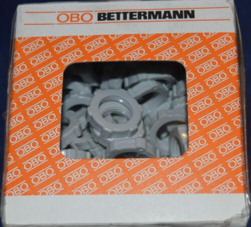 47 100 Stück OBO Bettermann Typ 116 PG 9 Gegenmutter 2043092