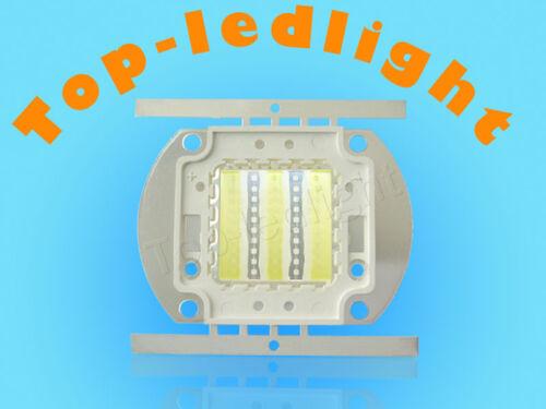 50W Cool White 15000K+Royal Blue 450nm-455nm 32V-36V 1.5A High Power LED Light