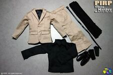 PIRP 1/6 Ninja Master Suit for hottoys body batman ducard liam nesson custom