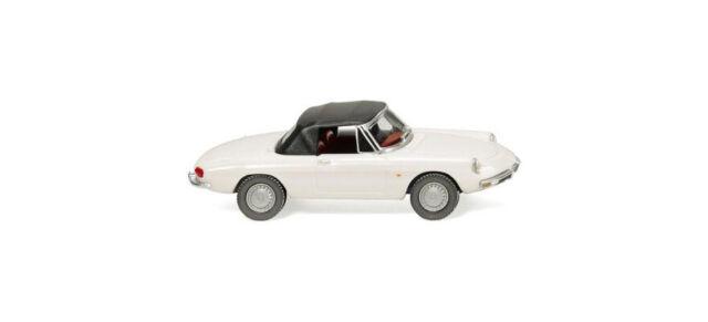 Wiking 020602 Alfa Romeo Spider cerrado blanco ho 1:87 nuevo