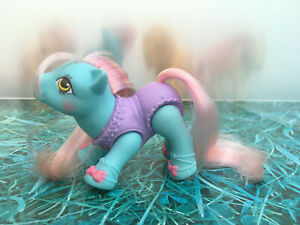 My-Little-Pony-G1-Baby-Tippytoes-Ballerina-Poseable-Vintage-Toy-Hasbro-1990-MLP