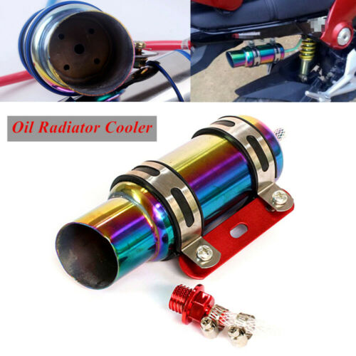 Motorcycle Oil Radiator Cooler Engine Cooling Part for Scooter GY6 125cc Colored