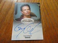 2017 Star Trek 50th Anniversary Gary Graham As Tanis Autograph