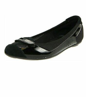 puma ballet flats black