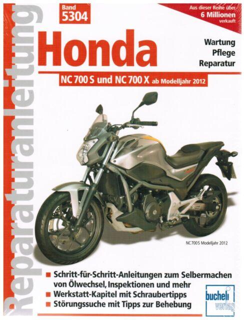 book repair manual honda nc 700 and nc 700 x from model year 2012 rh ebay com 2012 Honda NC700X Honda NC700X DCT