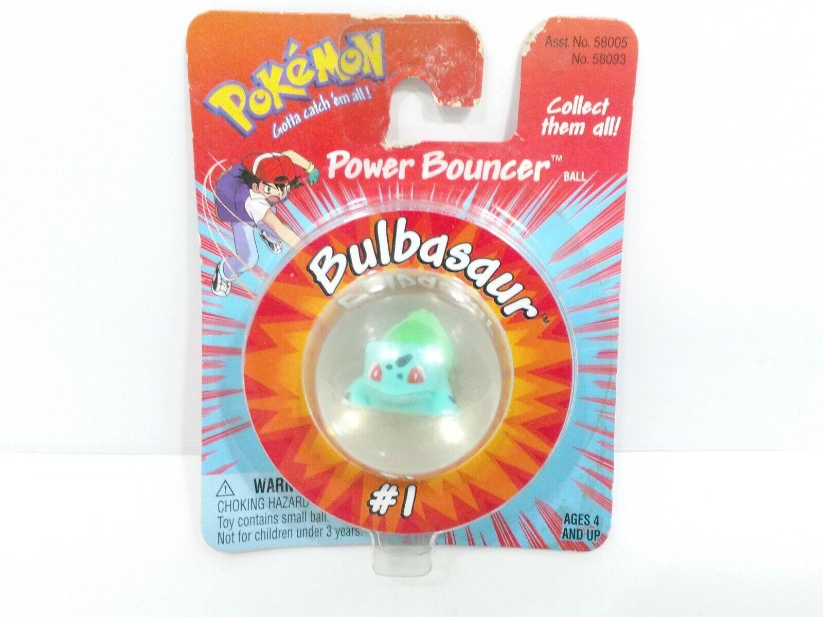 Pokemon Power  Bouncer  01 BuIbasaur NOS  autorisation de vente de la marque