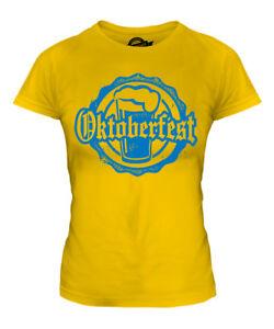 T-shirt Femmes du Oktoberfest Femmes Shirt Costume Oktoberfest