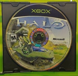 Halo-Original-OG-Microsoft-Xbox-Game-Tested-Working