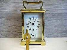 Antike Reiseuhr Antique 8 Day French Miniature Carriage Alarm Clock