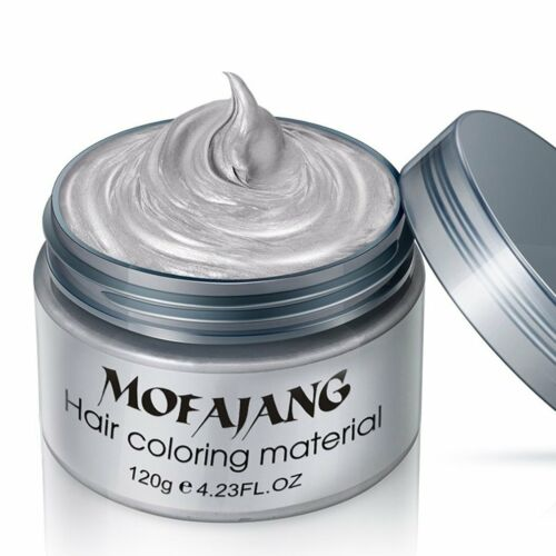 1 of 1 - Unisex DIY Styling Hair Color Wax Mud Dye Cream Temporary Modeling Easy Wash GT