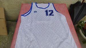 de maillot Sport XL basket Casal sur blanc Détails vintage floqué 12 eE2IH9DYbW