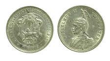 pcc1483_4) GERMAN EAST AFRICA 1/4 RUPIA 1901 GUGLIELMO II