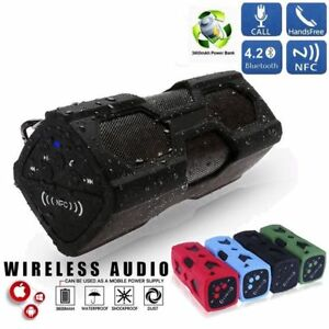 Portable-Bluetooth-Wireless-Speaker-Waterproof-Power-Bank-Ultra-Bass-Subwoofer