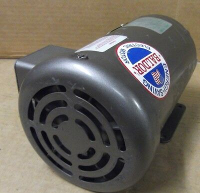 1//3 HP 3 Phase BALDOR MM3457 MOTOR 230//460 VOLTS 3450 RPM .25KW