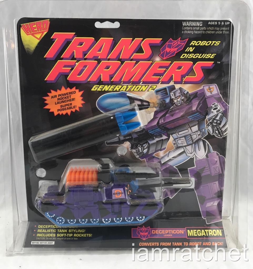 Transformers Original G2 Hero Megatron MOSC