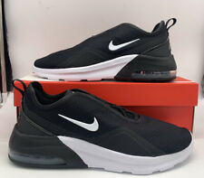 Size 9.5 - Nike Air Max Motion 2 Black White Gold for sale ...