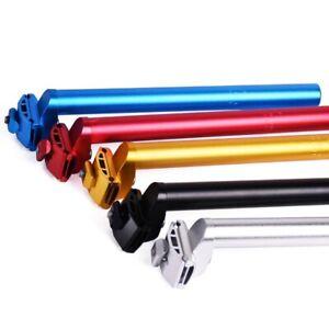 Fixed-Gear-Bike-Seatpost-25-4-300mm-Aluminum-Alloy-MTB-Seat-Horizontal-Tube