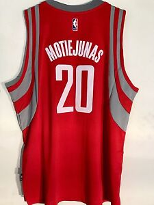 dfc83a90c Adidas Swingman 15-16 NBA Jersey Houston Rockets Motiejunas Red sz ...