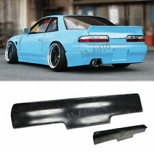 For 89-94 Nissan 240SX Coupe S13 Rocket Bunny Style Rear Trunk Wing Spoiler Kit