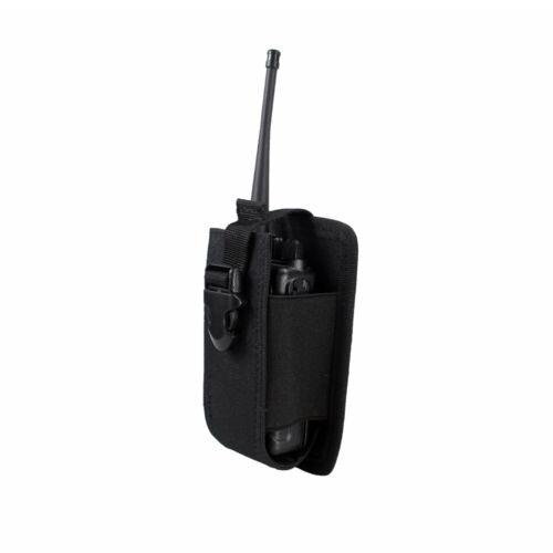 Tactical Radio Pouch Walkie Holster Talkie Holder Waist Belt Bag Molle Pouch