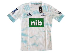 adidas Blues Primeblue Away Rugby Trikot Herren Größe M L -NEU- ED7927 Jersey