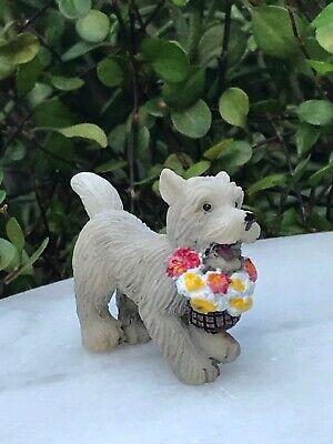 Miniature Dollhouse FAIRY GARDEN Accessories Lovey Pup