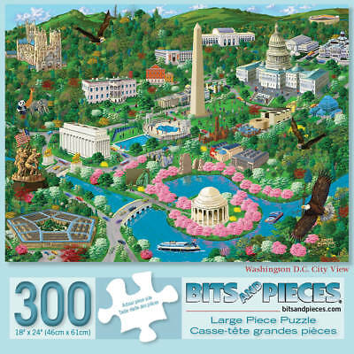bits and pieces 300 large piece puzzles