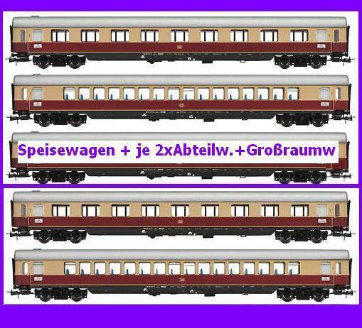Rivarossi HR 4034 4035 té Helvetia 5 vehículos implicados 1.kl dsg 1 87 DB ep.3 nuevo ov